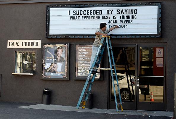Improv「Joan Rivers Remembered In Los Angeles」:写真・画像(9)[壁紙.com]