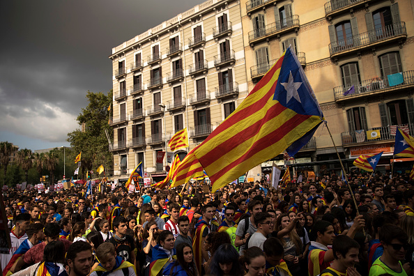 Catalonia「Preparations Are Made Leading Up To The Catalan Independence Referendum」:写真・画像(6)[壁紙.com]