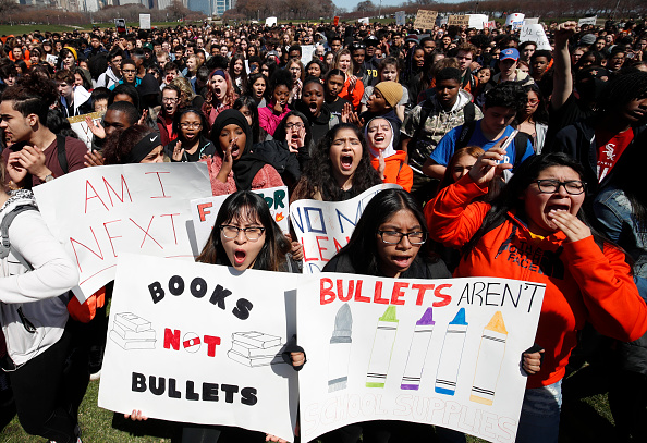 Walkout - Protest「Students Across The Country Organize Walkouts In Protest Over Gun Violence」:写真・画像(10)[壁紙.com]