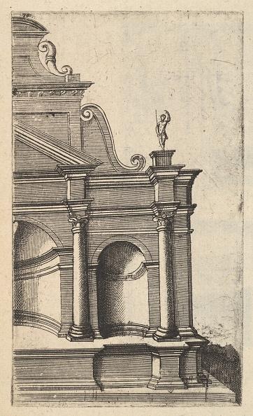Etching「Partial View Of A Monument [Mercurii Templum] From The Series Ruinarum Variarum Fabricaru」:写真・画像(18)[壁紙.com]