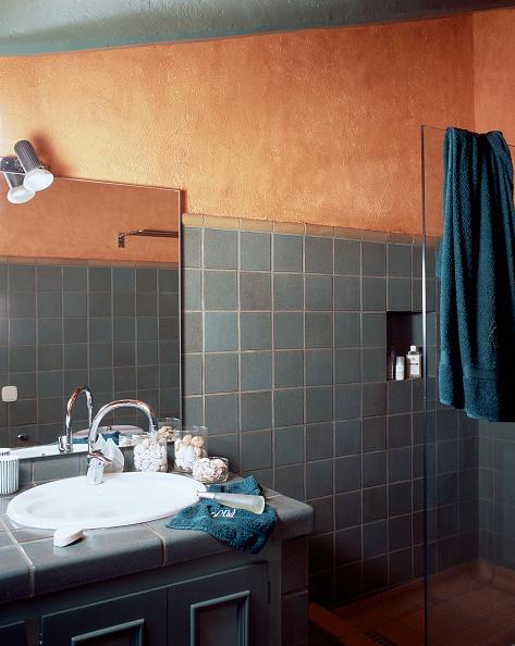 Napkin「Partial view of a tiled bathroom」:写真・画像(10)[壁紙.com]
