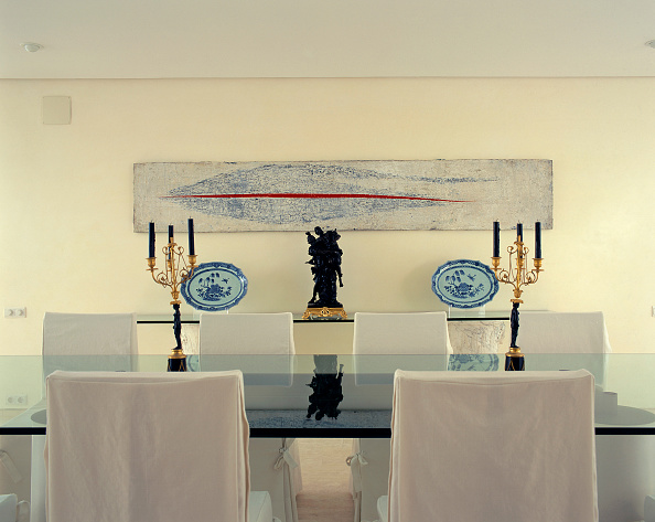Dining Room「Partial view of a dining room」:写真・画像(9)[壁紙.com]