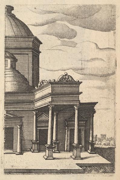 Etching「Partial View Of A Building [Templum Veneris] From The Series Ruinarum Variarum Fabricarum」:写真・画像(14)[壁紙.com]
