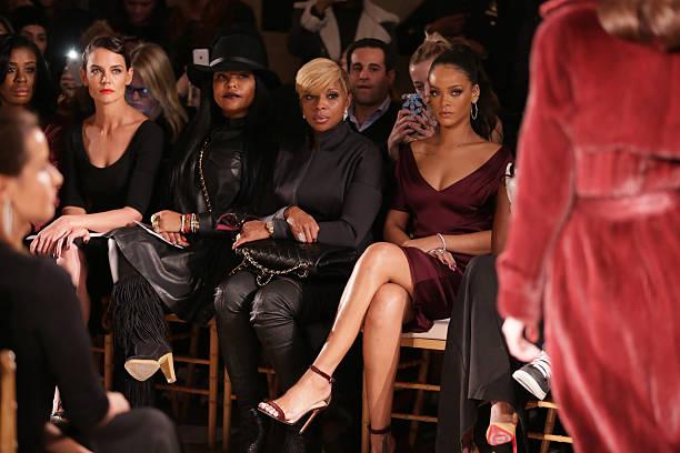 Zac Posen - Front Row - Mercedes-Benz Fashion Week Fall 2015:ニュース(壁紙.com)