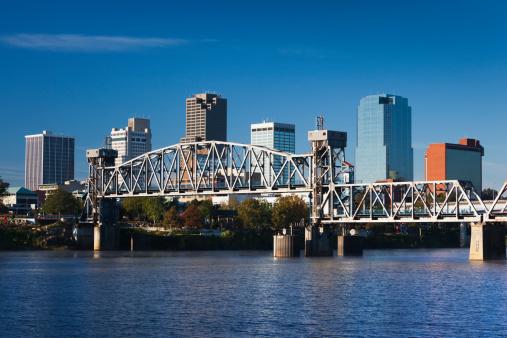 Little Rock - Arkansas「Little Rock, Arkansas, City View」:スマホ壁紙(1)