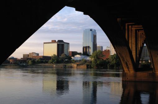 Little Rock - Arkansas「Little Rock Skyline」:スマホ壁紙(15)