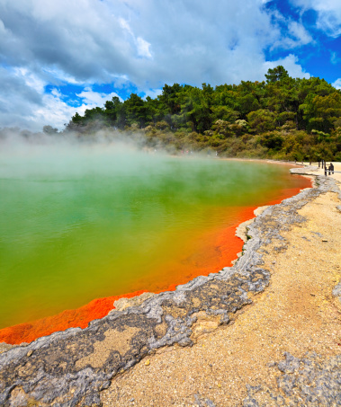 New Zealand「Champagne Pool, Rotorua, New Zealand」:スマホ壁紙(18)