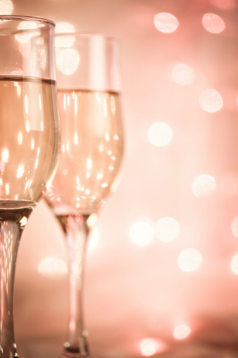 ピンク色「シャンパン」:スマホ壁紙(18)