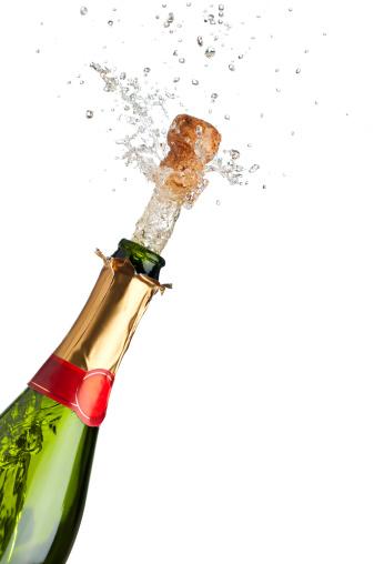 お正月「シャンパン」:スマホ壁紙(3)