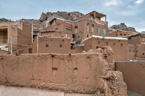 Iranian Culture「View of Abyaneh, old zoroastrian town, Iran」:スマホ壁紙(9)