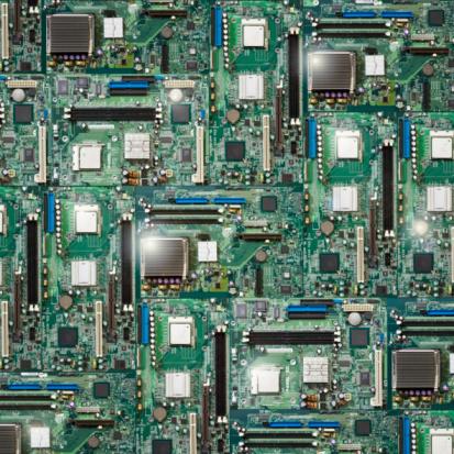 Circuit Board「Circuit city」:スマホ壁紙(17)