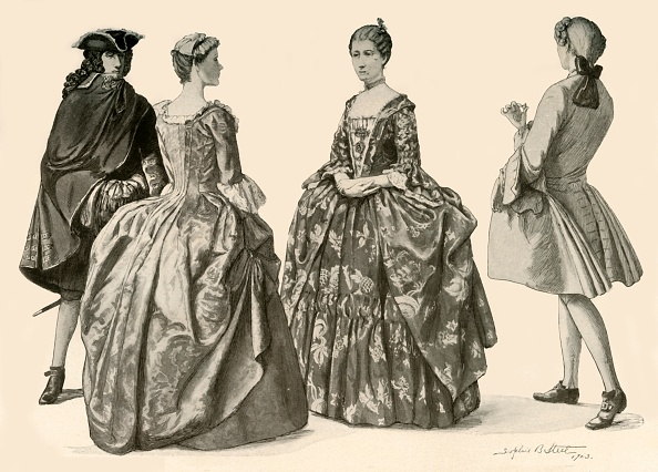 White Background「Clothing During The Reigns Of Queen Anne And George I」:写真・画像(18)[壁紙.com]