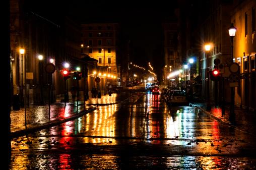 Rain「Night in the city」:スマホ壁紙(5)
