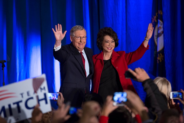 Aaron P「Senate Minority Leader Mitch McConnell Attends Election Night Gathering」:写真・画像(0)[壁紙.com]