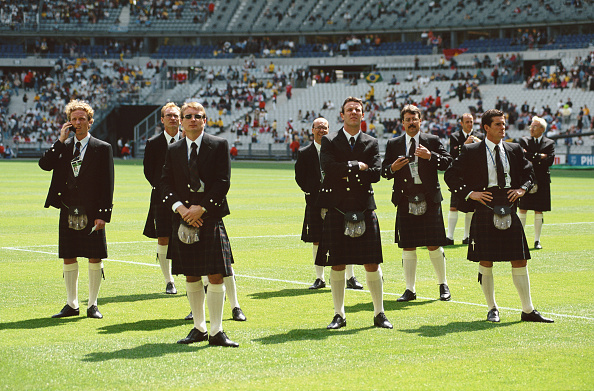 Kilt「Scotland v Brazil FIFA World Cup 1998」:写真・画像(15)[壁紙.com]