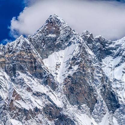Khumbu Glacier「The South Face of Lhotse, Mount Everest National Park, Nepal」:スマホ壁紙(7)