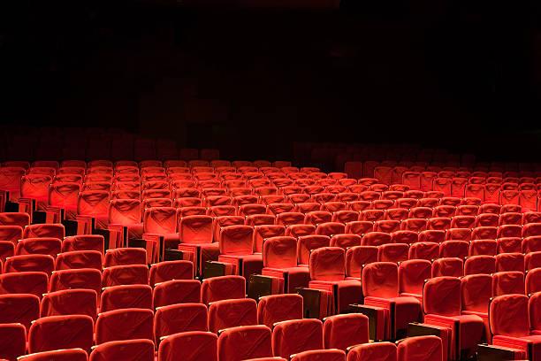 Red Seat Rows in Auditorium Movie Theater Seats:スマホ壁紙(壁紙.com)