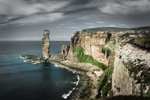 Overcast「The Old Man Of Hoy, Scotland」:スマホ壁紙(17)