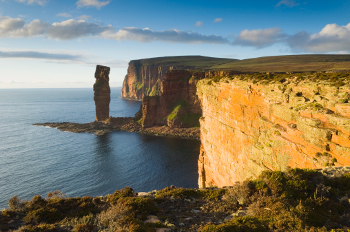 Rock Formation「The Old Man of Hoy in evening light」:スマホ壁紙(1)
