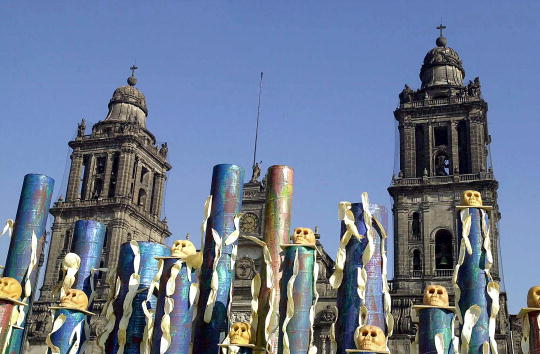 Mexico City「Day of the Dead Celebration in Mexico」:写真・画像(10)[壁紙.com]