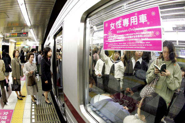 Japan「'Women Only' Carriages Introduced On Nine Private Railways And Subway Trains In Japan」:写真・画像(3)[壁紙.com]
