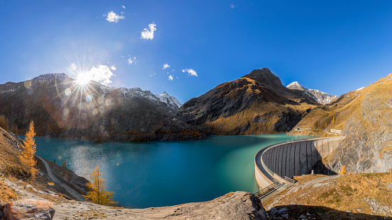 National Park「Concrete dam wall of Grossglockner - Margaritze  Stausee」:スマホ壁紙(15)