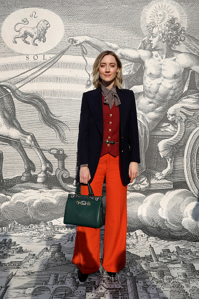Orange Color「Gucci - Arrivals - Milan Fashion Week Autumn/Winter 2019/20」:写真・画像(4)[壁紙.com]