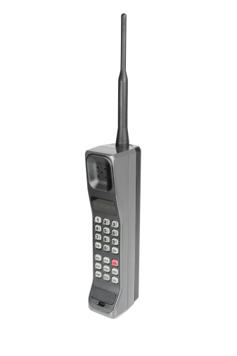 1990-1999「Classic Mobile Phone - Isolated on White with Clipping Path」:スマホ壁紙(4)