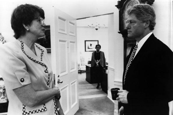 Janet Reno「Bill Clinton」:写真・画像(0)[壁紙.com]
