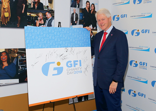 Rob Kim「Annual Charity Day Hosted By Cantor Fitzgerald, BGC and GFI - GFI Office - Arrivals」:写真・画像(1)[壁紙.com]