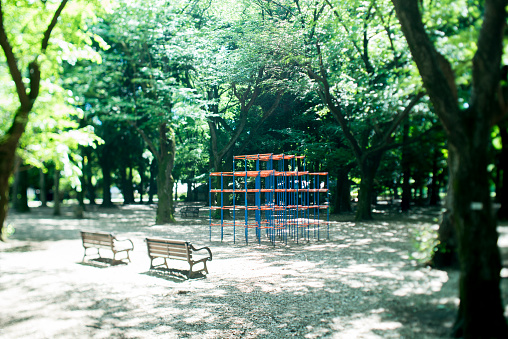Leisure Equipment「Park with playground equipment」:スマホ壁紙(12)