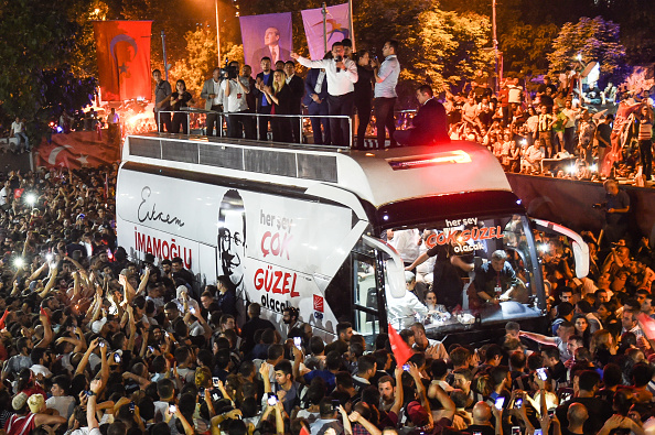 Istanbul「Istanbul Returns To Polls In Re-run Of Mayoral Election」:写真・画像(8)[壁紙.com]