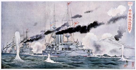 Battle「Bombing of Port Arthur during Russo-Japanese War」:スマホ壁紙(17)