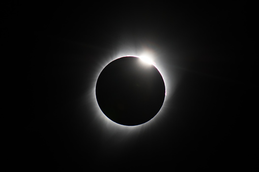Astronomy「Diamond Ring」:スマホ壁紙(12)