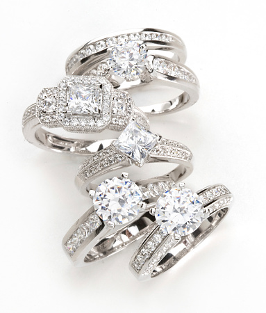 Ring - Jewelry「Diamond Rings」:スマホ壁紙(3)