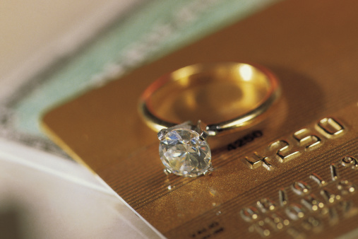 Credit Card「Diamond ring on credit cards」:スマホ壁紙(7)