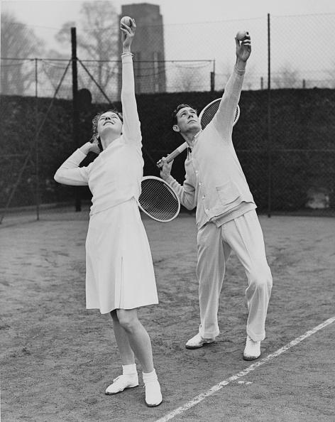 テニス「Mary Hardwick And Dan Maskell」:写真・画像(18)[壁紙.com]