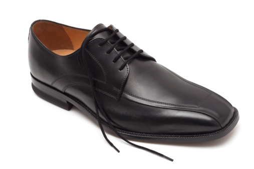 Businesswear「Elegant black leather men's shoes」:スマホ壁紙(6)