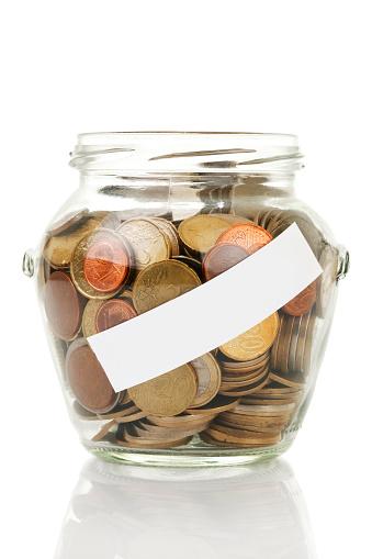 A Helping Hand「glass jar with coin」:スマホ壁紙(19)