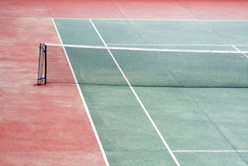 テニス「テニスコート」:スマホ壁紙(12)