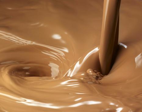 Pouring「Chocolate milk pour」:スマホ壁紙(4)