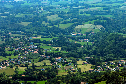 Nouvelle-Aquitaine「Basque Country from La Rhune」:スマホ壁紙(15)