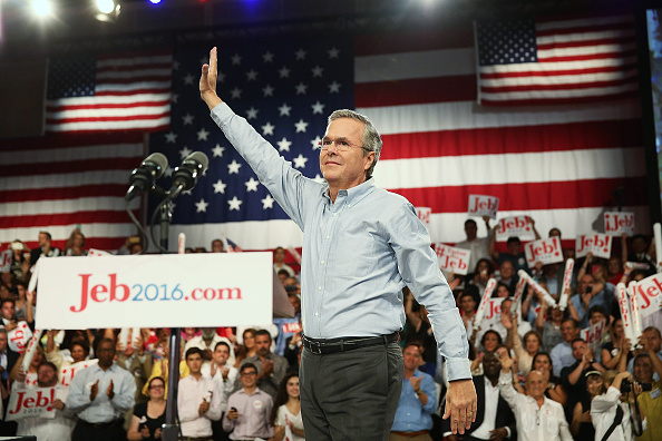 Jeb Bush「Jeb Bush Announces Candidacy For President」:写真・画像(12)[壁紙.com]
