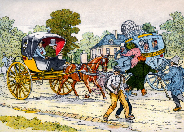 City Life「Cabriolet and 'coucou' carriage in 1885」:写真・画像(11)[壁紙.com]