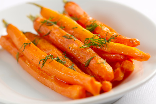 Carrot「Roasted Carrots with Dill」:スマホ壁紙(15)