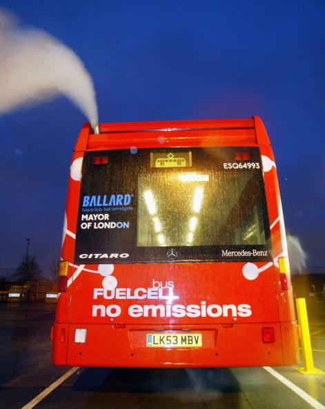 Bus「Hydrogen Powered Buses Come Into Service In London 」:写真・画像(3)[壁紙.com]