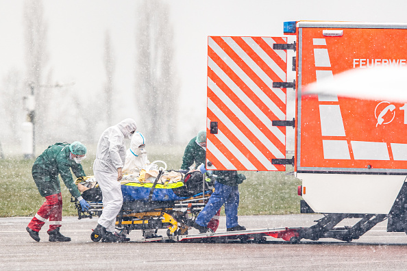 Germany「Covid-19 Patients Flown From France And Italy To Germany For Treatment」:写真・画像(0)[壁紙.com]
