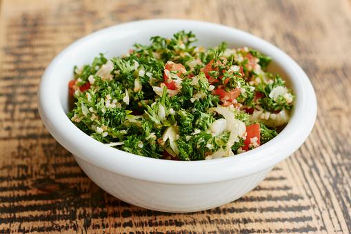 Bulgur Wheat「Parsley tabbouleh salad, with parsley, tomatoes, onions, bulgur」:スマホ壁紙(18)