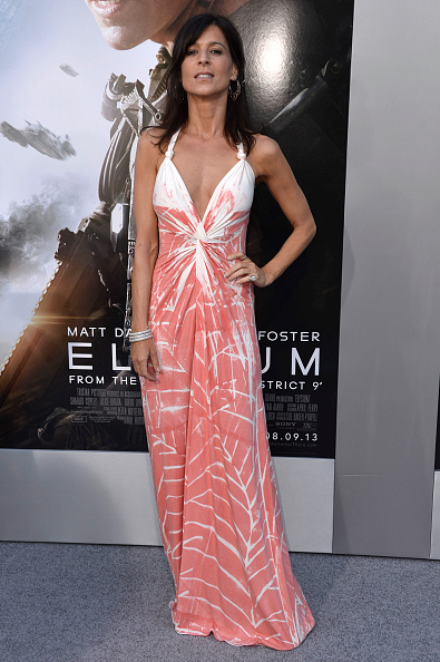 "Sleeveless Dress「Premiere Of TriStar Pictures' ""Elysium"" - Arrivals」:写真・画像(0)[壁紙.com]"