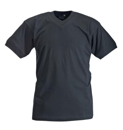 Casual Clothing「Black t-shirt on white background」:スマホ壁紙(17)